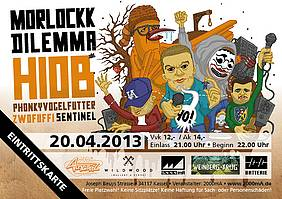 Batterie Plakat Ticket